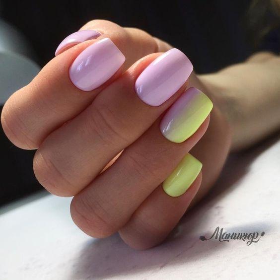 Inspiracje na pastelowe paznokcie