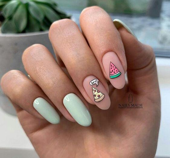 Wzorki na paznokcie na wiosnę 2019