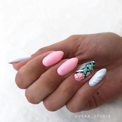 Pastelowe paznokcie na lato