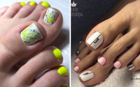 Najmodniejsze paznokcie u stóp na lato 2020