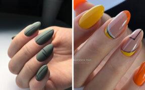 Jesienny manicure 2020 wzory i kolory