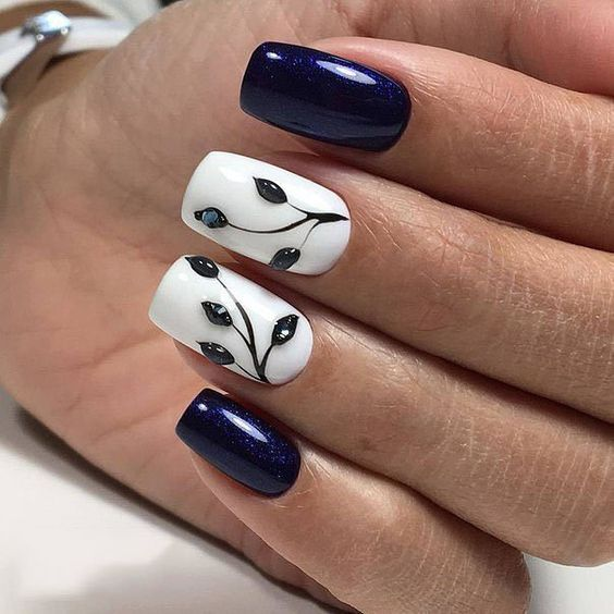 Krótkie paznokcie na zimę