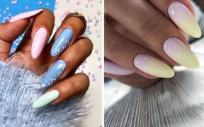 Pastelowy manicure – 15 najmodniejszych inspiracji