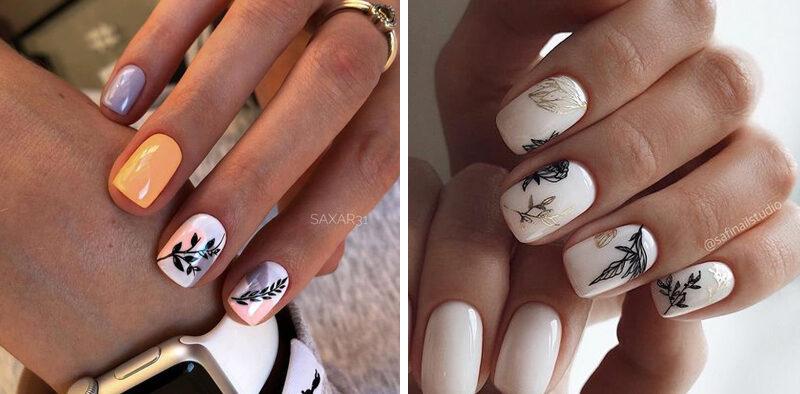 Modny manicure na wiosnę - TOP 14 inspiracji