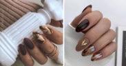 Brązowe paznokcie - TOP 13 inspiracji i pomysłów